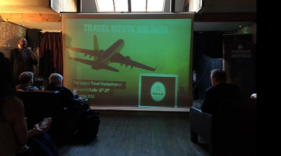 Picture of the launch event of Travel meets Big Data Hackathon & Conference